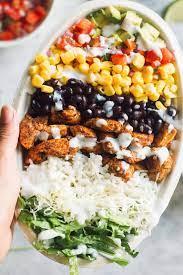 Chicken Burrito Bowl Recipe (Chipotle ...