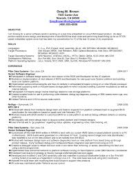 Board Design Engineer Sample Resume Letter Example