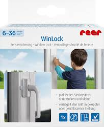 Reer Fenster Und Balkontürsicherung Winlock Weiß 1 St Dauerhaft