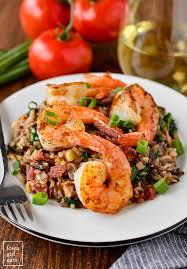 healthy shrimp dinner recipes. Wonderful Shrimp Shrimp And Wild Rice Skillet Is Healthy Hearty A Craveable Glutenfree  Dinner Inside Healthy Dinner Recipes