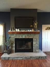 january mantle decoration ledge stone fireplace for great concrete fireplace mantel