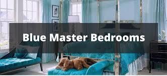 Blue master bedroom design Dark Blue Home Stratosphere 20 Blue Master Bedroom Ideas For 2019
