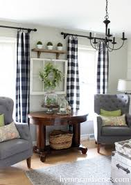 2016 Spring Home Tour | Library table, Spring and Living rooms