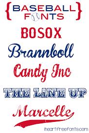 Free Sports Fonts Pin By Tammy Smith On Cricut Fonts Baseball Font Cricut Fonts