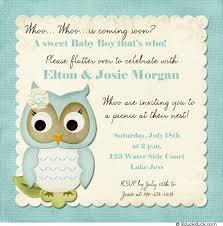 Terrific Owl Baby Shower Invitations Boy 37 For Personalized Baby Owl Baby Shower Invitations For Boy