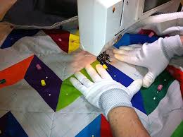 Should You Use Gloves For Quilting? Five Reasons Why We Vote Yes! & Gloves for finishing a quilt with ease Adamdwight.com
