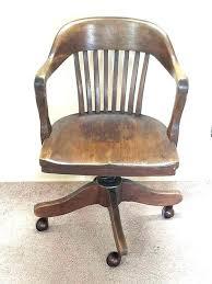 antique wooden desk leather wooden desk chair antique wood desk chair vintage swivel er barrel oak