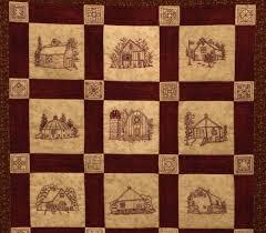 Quilt Barns Quilt Pattern Redwork Hand Embroidery Blocks & & 🔎zoom Adamdwight.com