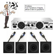 how to make a y splitter speakon avs forum home theater in some cases making the y near the amp will be best so the subwoofers can be spaced far apart or at least as far apart as you require