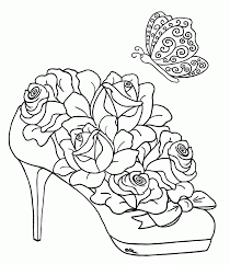Let us know your thoughts about this article in the section. Free Adult Printable Coloring Pages Roses Heart Coloring Home