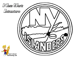 Hockey Coloring Pages Nhl Funycoloring