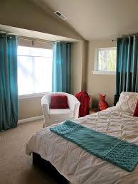 turquoise bedroom furniture. Simple Bedroom Decorating With Turquoise Themes Curtains Furniture