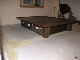 Build Queen Size Platform Bed Storage Long Making Wood Platform Bed