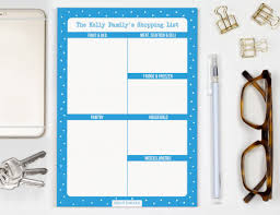 Buy Personalised Shopping Lists At Bright Star Kids Online