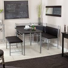 Full Size of Kitchen: Modern Corner Breakfast Nook Set Together With Grey  Metal Nook Chair ...