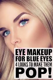eye makeup for blondes with blue eyes