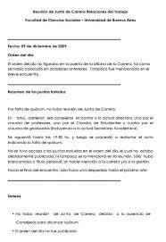 Minuta De Junta De Carrera 09 12 09
