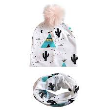 Muffler Size Chart Amazon Com Diufon 2019 Newborn Baby Pink Hair Ball Print