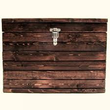 small wooden box with drawers handmade medium storage box small slatted wooden trunk with lockable latch