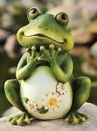 Image result for garden frog statue