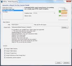 MySQL :: MySQL Workbench Manual :: 9.2.2 DBDoc Model Reporting