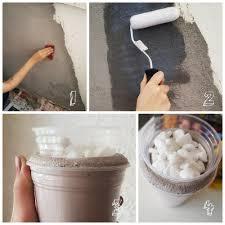 Duas vasilhas de plástico (servirão como molde, será preciso que uma delas seja bem menor que a outra). Como Fazer Parede De Cimento Queimado Com Vasos Para Plantas Mania De Decoracao