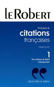 Citations Francaises Volume 1 Paperback Edition Usuels Pb