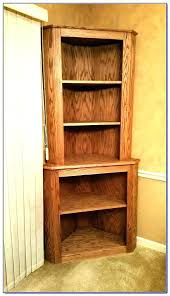 Dark Wood Corner Shelves Unique Wood Corner Bookcase Old Wood Corner Bookcase Ikea Wood Corner Shelf