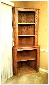 wood corner bookcase corner book shelf espresso corner shelves large size of solid wood corner book wood corner