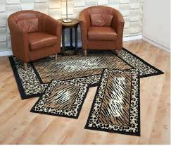 animal print rug runners picture 1 of 3