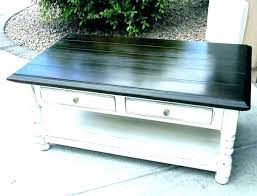 weathered coffee table distressed wood white gray grey and weathere