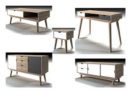retro living room furniture. LPD Scandi Retro Living Room Furniture Sideboard Desk Table Oak \u0026 White Or Grey