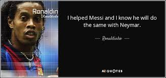 Messi Quotes About Neymar