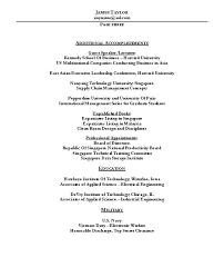 Resume Outline Sample Sample Resume Outline For Graduate Student Cv ...