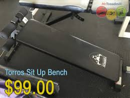 Torros G3 Home Gym Exercise Chart Torros Sit Up Bench