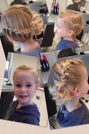 Invlecht Vlecht Opsteken Fotoshoot Bso Haar Voor Kleine