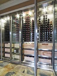 large wine refrigerator. Beautiful Large Michael Adamsonu0027s Cellar Might Be More Accurately Described As A Largescale  Modern Wine Refrigerator On Large Wine Refrigerator