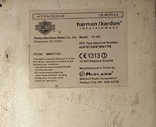 harley intercom parts accessories harley touring cvo ultra glide harman kardon radio audio cb module intercom