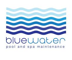 pool cleaning logo. Blue-water-pool-maintenance-logo Pool Cleaning Logo E