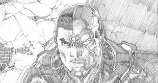 Jim Lee Realizza Cyborg Per La Variant Cover Di Justice League 5