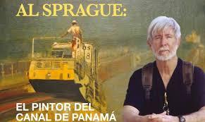 al sprague the painter of the panama c sprague has painted the panama c