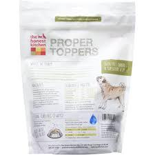 The Honest Kitchen Proper Toppers GrainFree Chicken Dog Food  Oz - Honest kitchen dog food