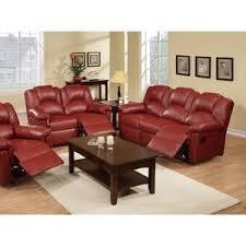 red living room set. jacob 2 piece living room set red h