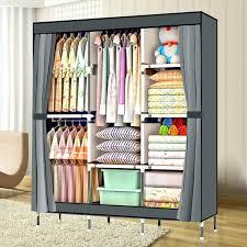 wardrobes ikea canvas wardrobe large portable closet attractive global modern within single