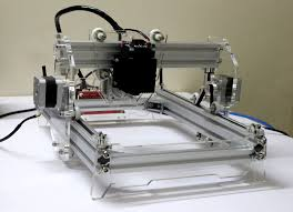 picture of diy 5500mw laser engraver cutter
