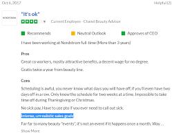 source glassdoor nordstrom review