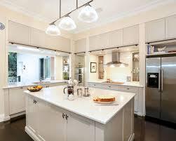 houzz kitchen lighting. contemporary lshaped dark wood floor kitchen idea in sydney with a doublebowl houzz lighting h