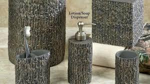 wildlife bathroom accessories romantic home bath accessories tree bark rustic in wildlife bathroom decor wildlife bathroom