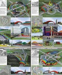 Дипломный проект page Архитектура и проектирование  Дизайн архитектурной среды въездных зон Новосибирска