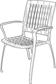 chair clipart black and white. download this image as: chair clipart black and white b